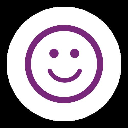 consumidor feliz